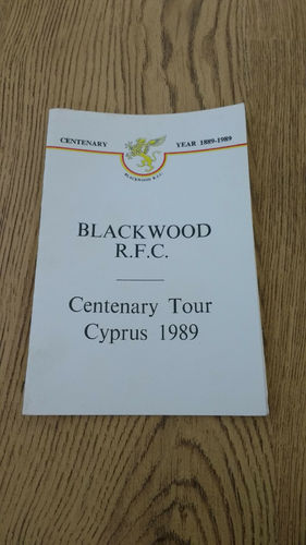 Blackwood Centenary Tour to Cyprus 1989 Brochure