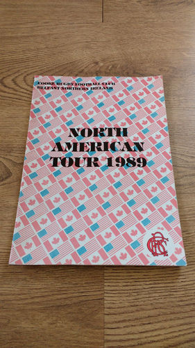 Cooke (Belfast NI) Tour to North America 1989 Brochure