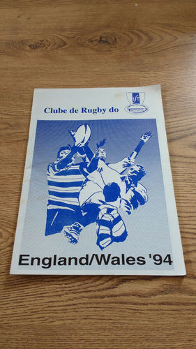 Clube de Rugby do Tecnico (Portugal) Tour to England & Wales 1994 Brochure