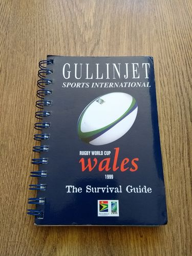 'Rugby World Cup Wales 1999 - The Survival Guide' Gullinjet Sports Handbook
