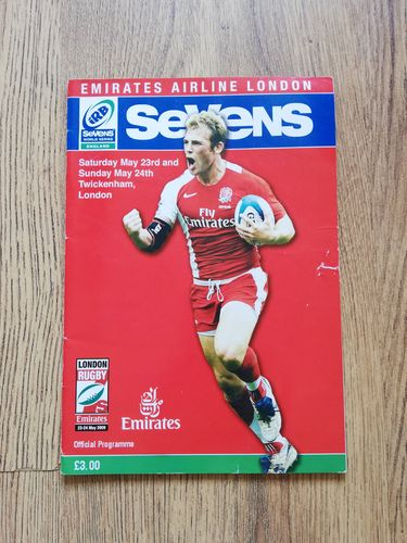World Series Sevens London 2009 Rugby Programme