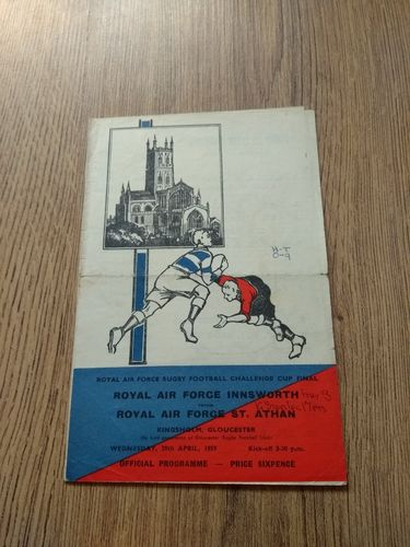 Innsworth v St Athan 1959 Royal Air Force Challenge Cup Final