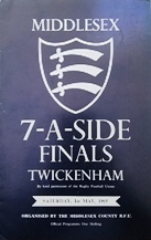 Middlesex Sevens Rugby Programmes