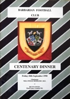 Rugby Dinner Menus & Guest Lists - Rugbyreplay