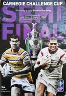 Rugby League Cup Final Programmes - Rugbyreplay